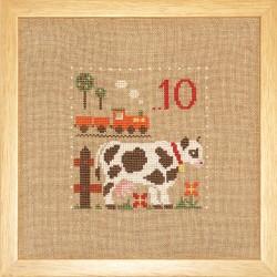 10,  La Vache