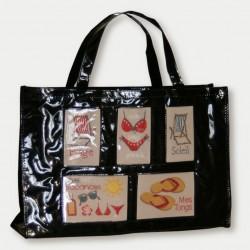 black beach bag