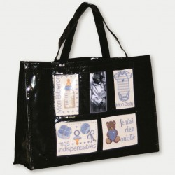 black baby bag