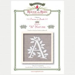 Nature Alphabet - A