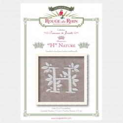 Alphabet Nature - H