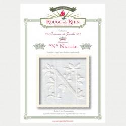 Alphabet Nature - N