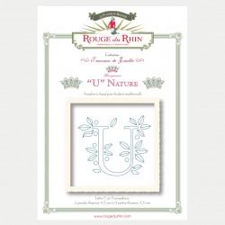 Alphabet Nature - U