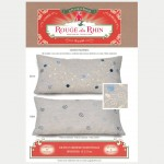 "Blue""Palestrina"" pillow"