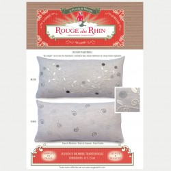 "Grey ""Palestrina"" pillow"