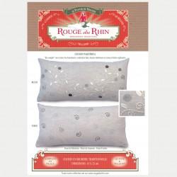 "Grey ""Palestrina"" pillow"