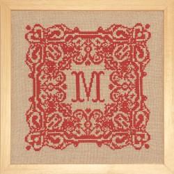Monogramme Mouchoir de poche