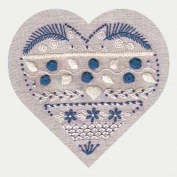 Stitch lesson in heart