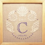 Monogramme aux Coquillages