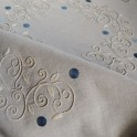 blue palestrina tablecloth
