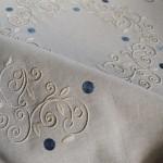 blue palestrina tablecloth